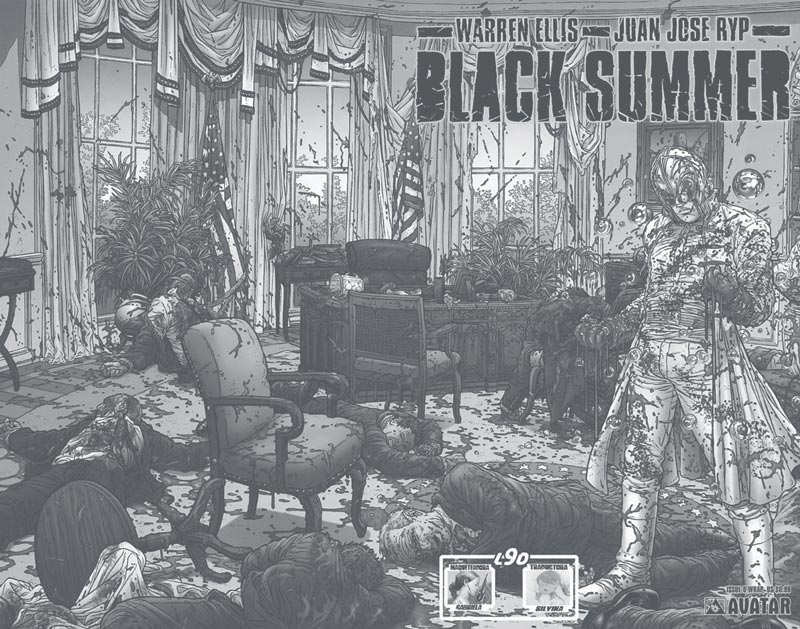 Black Summer, 2007 | Warren Ellis, Juan Jose Ryp | Avatar Press